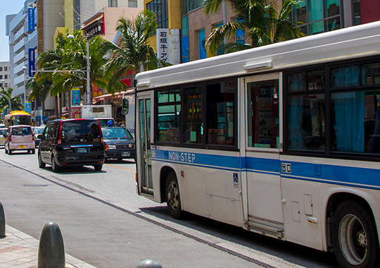 路線バス広告